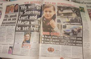 Nieautoryzowany Artykuł w Irish Daily Star