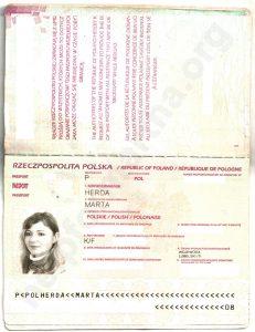 Paszport Marty