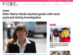 Artykuł na stronie Evoke.ie