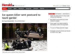 Artyukuł na stronie Herald.ie
