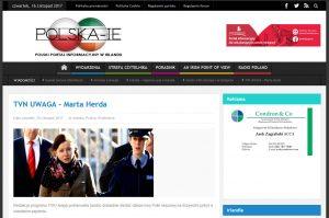 Wpis na portalu Polska IE
