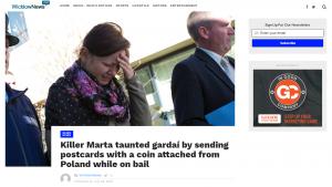 Screen artykułu w Wicklow News